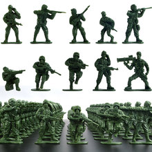 100pcs Soldier GK Simulation War PVC Military Soldier Model Toy War Robot Army Fan Collection Model garage kid Child Family Toy
