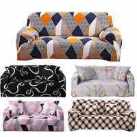 1/2/3/4/assento slipcovers capa do sofá algodão elástico capa para sala de estar sofá capa toalha housse de canapé