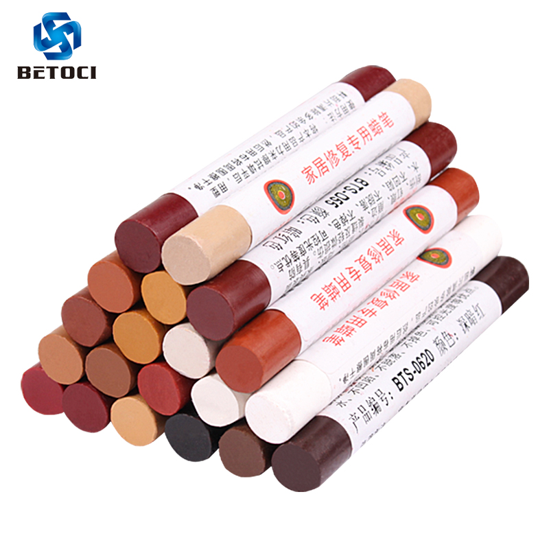 Betoci Wax Wooden Furniture Floor Repair Pens Damaged Scratch Repair Crayons Repair Materials Free Shipping