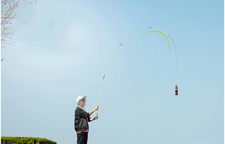 2.7m-5.4m taiwan vara de pesca 60t alta