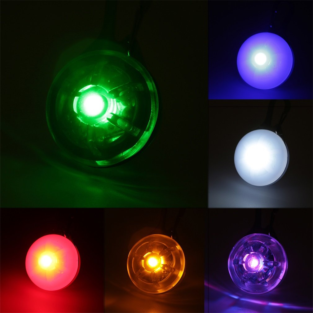 Pet Dog Cat Puppy Clip-on LED Flashing Collar Safety Night Light Pendant Exquisitely Designed Durable Gorgeous