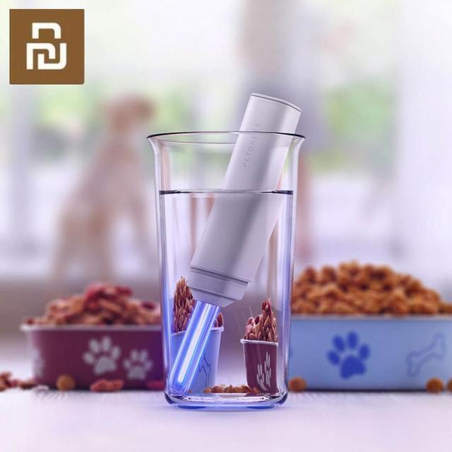 New Xiaomi Petoneer Cold Cathode UV Sterilization Pen 253.7nm Water Purifier Pen Rechargable Destroys Bacteria Health Protection