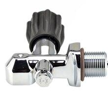 Scuba Tauchen PCP Paintball Scuba Din Zylinder Ventile für Gase Stil K G3/4 Gewinde 300bar/4500psi carbon Faser