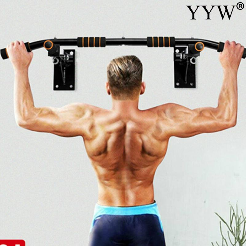 Wall Horizontal Bars Steel 200kg Home Gym Workout Chin Push Up Pull Up Training Bar Sport Fitness Sit-Ups Equipments Heavy Duty