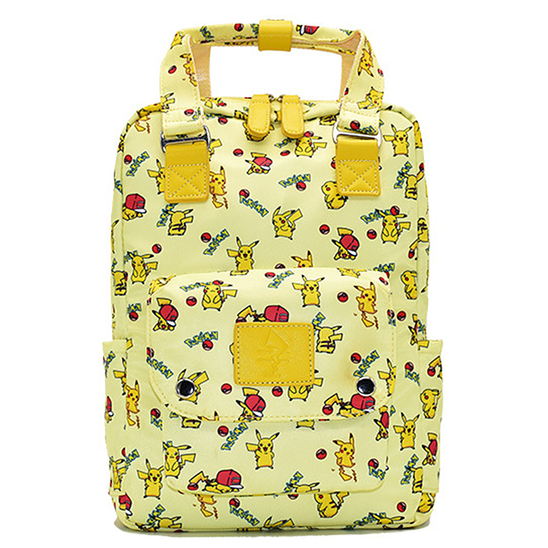 Anime Pikachu GO Totoro Backpack Bag School Bag Boys Girls Kids Book School Travel Bag Gift