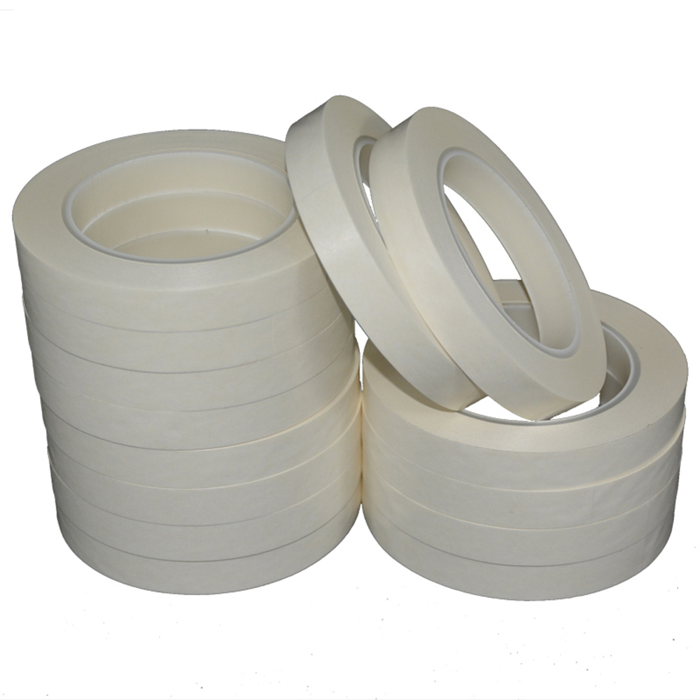 Fireproof Tape Flame Retardant Insulating Paper TransformerTape Punching Type 50M/Roll 0.09mm Thick Aramid Paper Nomex Tape