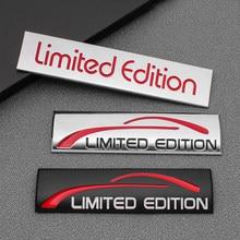 Etiqueta do carro de metal 3d edição limitada emblema emblema decalque estilo do carro para bmw audi honda chevrolet hyundai ford decoração