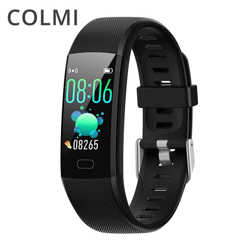 COLMI Fitness Tracker HR Aktivität Tracker Heart Rate Monitor IP67 Wasserdichte Smart Band Schritt Zähler Schlaf Monitor für Kinder Männer