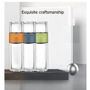 Image 3 - Kamjoveフィルター水カップ茶水分離旅行カップポータブル学生フィルターガラスティーカップ