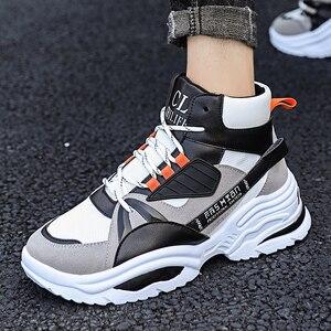 Image 3 - BIGFIRSE Scarpe Da Tennis per Gli Uomini Lace up Traspirante scarpe da Uomo Scarpe di Cotone Per Il Tempo Libero Allaperto Scarpe 2020 Zapatos Hombre Casual Scarpe Da Ginnastica Per uomini