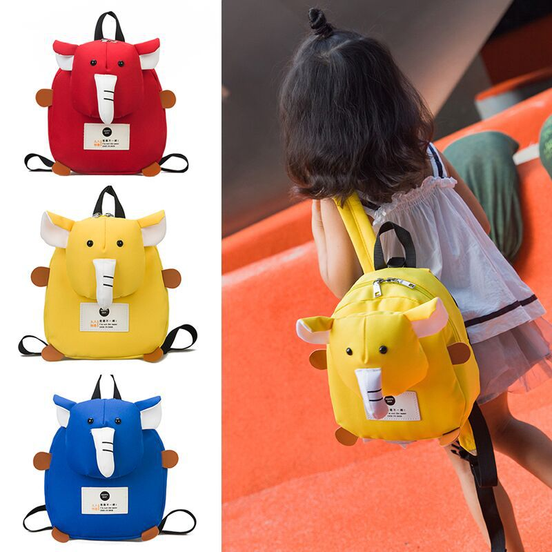 New Style Cartoon Kindergarten School Bag Korean-style CHILDREN'S School Bags Fashion Travel CHILDREN'S Rucksack