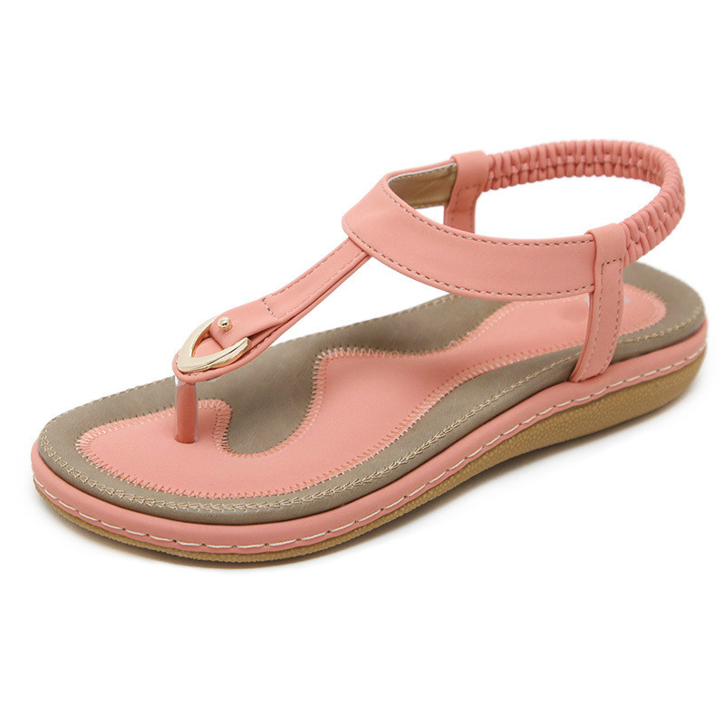 Flat Sandals Slippers Single-Shoes Women's New Casual Soft-Bottom