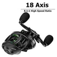 Fishing Reel 8.1 High Speed Ratio Left and Right Hand Drip Reel Fishing Reel Fishing Wheel Baitcasting Reel Trolling Reel