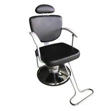 HZ8743  Beauty Salon Chair Salon Chair Professional Portable Hydraulic Lift Man Barber Chair Black