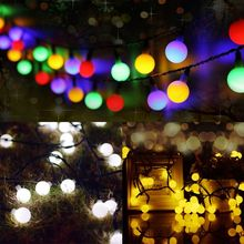 30 LEDs Solar Powered Bulb String Light Lovely Waterproof Lamp For Party Holiday Q84D for LED