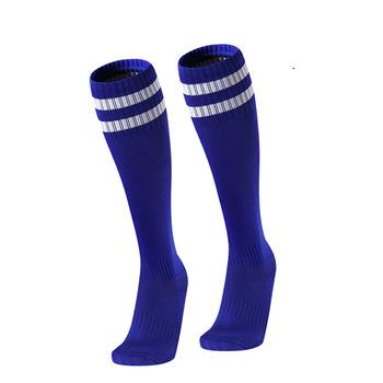 Dziecięce skarpety piłkarskie bawełna wysokiej jakości nosić skarpetki tanie i dobre opinie Chłopcy Pasuje prawda na wymiar weź swój normalny rozmiar Camping i piesze wycieczki Pończochy AV23654 cotton child