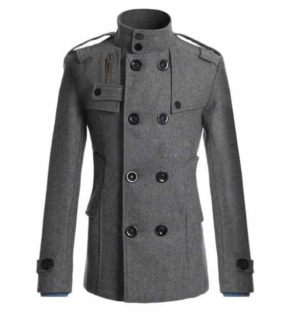 MRMT 2020 Marke Neue Männer der Mao Wolle Mantel für Männliche Lange Anzug Woolen Windjacke Männer Mantel der Äußere Tragen kleidung