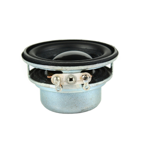 Image 3 - Tenghong 2 stücke 36MM Mini Tragbare Audio Full Palette Lautsprecher 16 Core 4Ohm 3W PU Seite Lautsprecher DIY heimkino Sound System