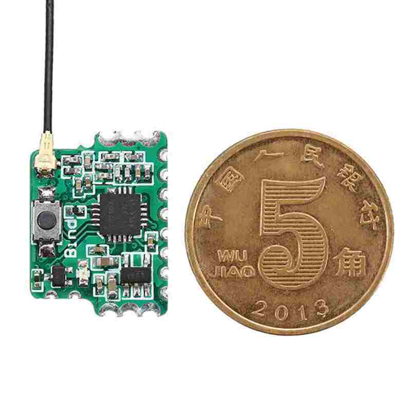 2.4G 8CH D8 Mini FrSky Compatible Receiver With PWM PPM SBUS Output For RC Models Toys Multicopter FPV Racing Drone