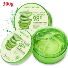 300g Natural Aloe Vera Smooth Gel Acne Face Moisturizing Anti-sensitive Sunscreen After Sun Repair Day Cream Skin Care