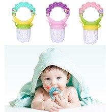 Детское фруктовое зубное кольцо, кормушка для малышей, пустышка для кормления, соска для новорожденных, свежая Ниблер для кормления, силиконовая соска для малышей