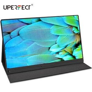 Uperfect 15.6 4k usb typec ips tela do monitor portátil para ps4 interruptor xbox huawei xiaomi telefone gaming monitor portátil display lcd