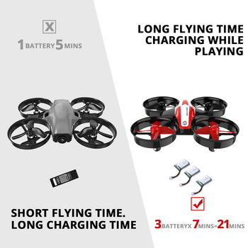 Holy Stone HS210 Mini RC Drone Toy Headless Drones Mini RC Quadrocopter Quadcopter Dron One Key Land Auto Hovering Helicopter 2