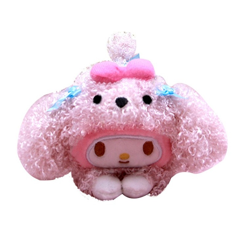 Japan Sanrio Melody Kawaii Dog Animal Plush Toys Stuffed Doll Stitch Fnaf  My Melody Toys For Children Elf Little Twin Stars