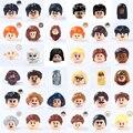 Film Serie Harry Spielzeug Blöcke Dobby Herr Voldemort Action-figuren Kopf Zubehör Spielzeug Für Kinder Kinder Bausteine Ziegel