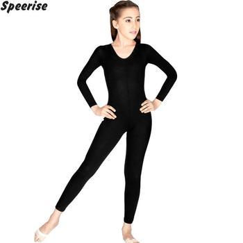Dziewczyny z długim rękawem Unitard gimnastyka trykot elastan zajęcia taneczne body kostiumy do występów dzieci maluch profesjonalny tanie i dobre opinie speerise BALLET Stretch Spandex Dance Gymnastics Ballet Dance performances Long Sleeve XS S M L XL XXL 2Y 3Y 4Y 5Y 6Y 7Y 8Y 9Y 10Y 11Y 12 years old