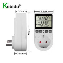 Socket-Outlet Temperature-Controller Multi-Function Digital 1 with Timer-Switch-Sensor