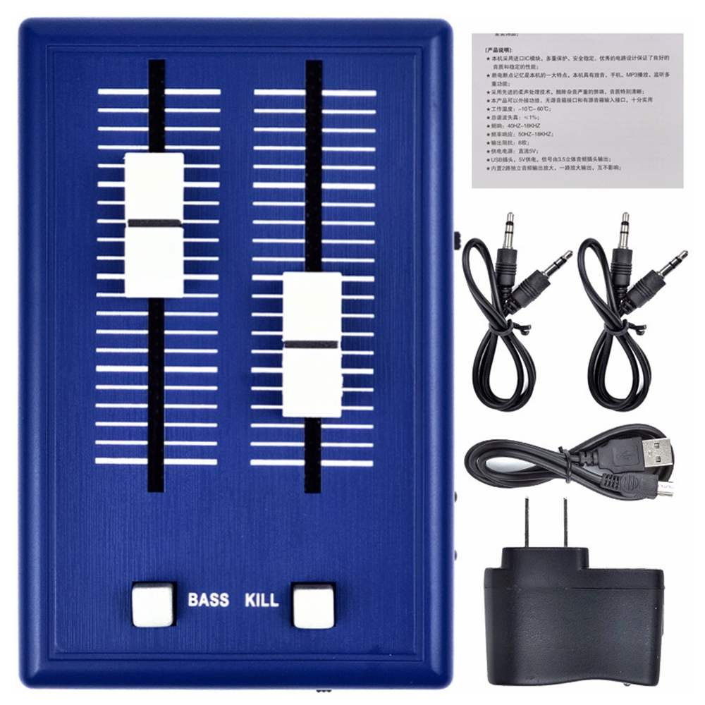 EU/UNS Stecker Audio Sound Mixer Kopfhörer audio Verstärker Karaoke KTV Mini Tasche Mixer Mini Handy Mixer 3,5mm Schnittstellen