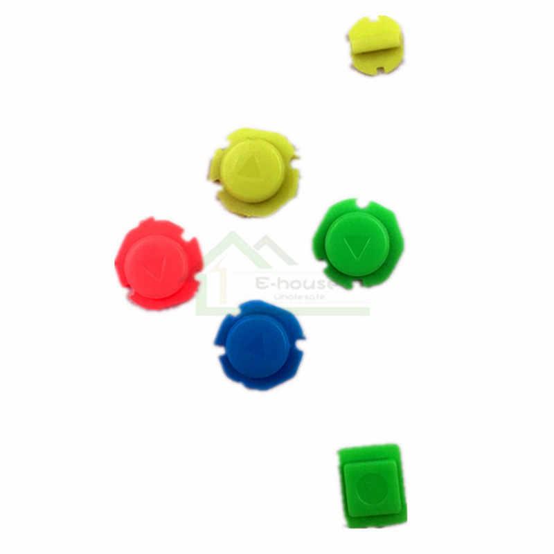 30 set izquierda controlador botones abxy D-Pad botones reemplazo para Nintend DE ALEGRÍA-con interruptor 6 juegos