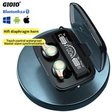Earphones Bluetooth Music-Headset Surround-Sound M18 Tws Wireless Smart-Touch Huawei