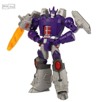 G1 Transformation Robot OPEN PLAY OP KO Galvatron MP Level Geweilong Oversize 22CM Anime Action Figure Kids Toys Collection