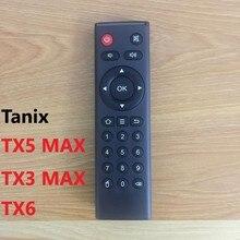 Mando a distancia Tanix Tx6 para Android tv box, tanix Tx5 max TX3 MAX Mini Tx6 TX92 android allwinner H6, mando a distancia de repuesto