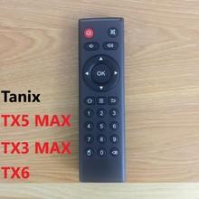 Tanix Tx6 원격 제어 안드로이드 tv 박스 tanix Tx5 맥스 TX3 맥스 미니 Tx6 TX92 안드로이드 allwinner H6 교체 원격 제어
