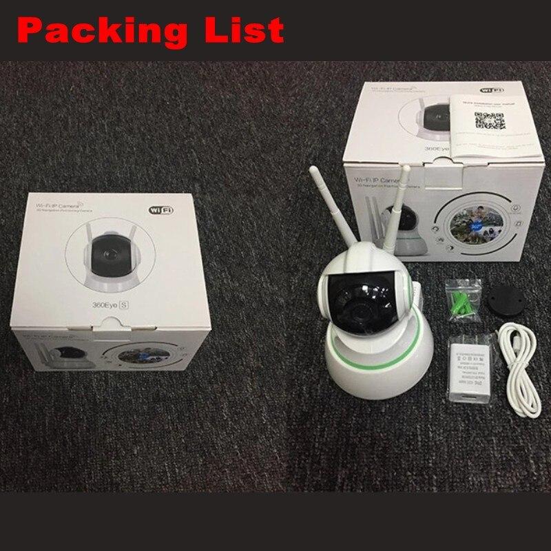 EC31 Wifi IP caméra 1080P 2 voies Audio bébé moniteur sans fil 360 degrés vue panoramique sécurité à domicile Surveillance IR caméscope - 5