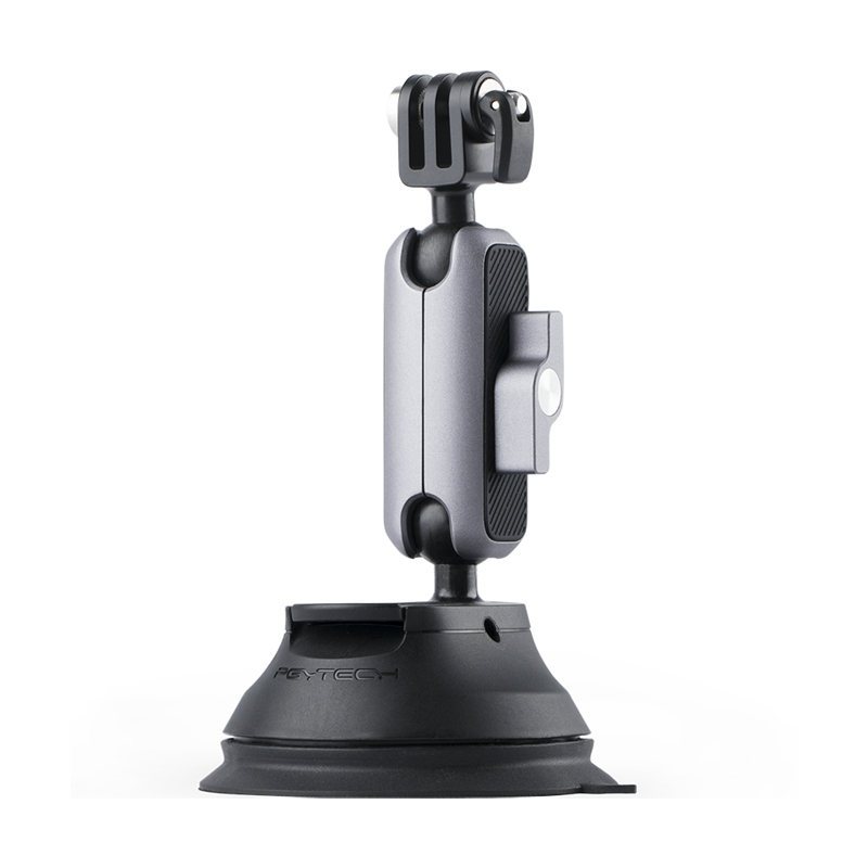 PGYTECH Action Camera Suction Cup For Gopro 8/7/6/5 Sjcam H9 Yi Camera For DJI Osmo Action Pocket Bracket Sucker Mount