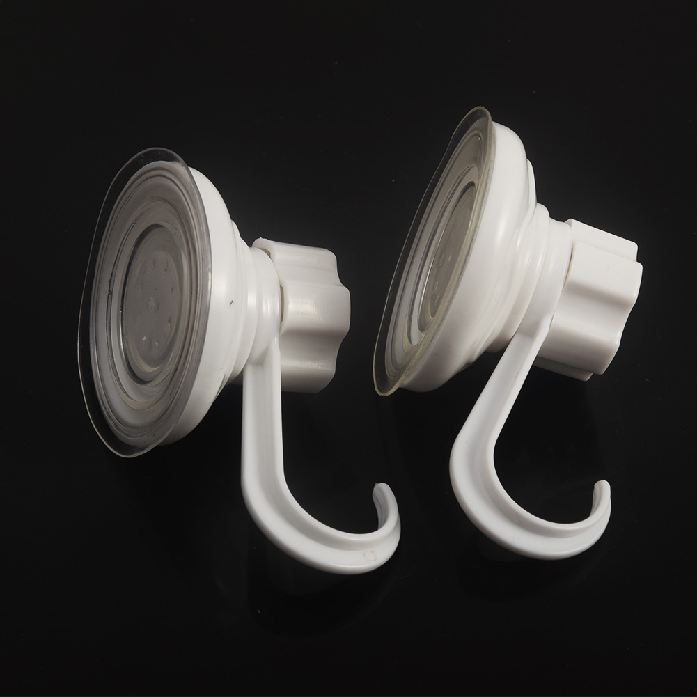 360 Degrees Seamless Removable Bathroom Kitchen Wall Strong Suction Cup Hook Hanger Door back storage Vacuum Sucker