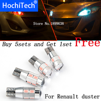 1pc safe No error T10 light 194 W5W high brightness LED Canbus For Renault duster megane 2 logan Koleos laguna 2 captur clio image