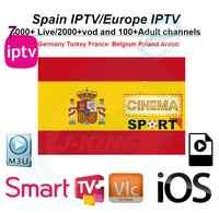 Español/IPTV francés Bélgica IPTV árabe IPTV holandés IPTV soporte Android m3u enigma2 actualizado un 7000 + en directo y Vod