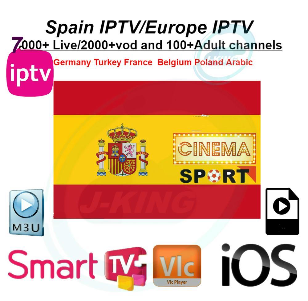 Spanish/Español  IPTV Francés Bélgica IPTV árabe IPTV Holandés IPTV Soporte Android M3u Enigma2 Actualizado A 7000 + Live Y Vod