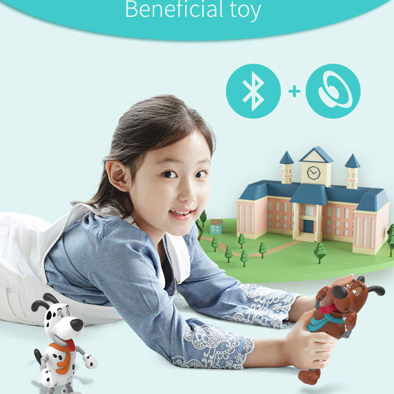 BB8810 Pocket Smart Pet Robot Pipi Dog Toy Children Electric Touch Voice Toy Cellphone Bluetooth Speaker Kids Educational Gift