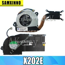 Вентилятор для For Asus VivoBook S200E X201E X202E Q200E X201EP X201EV радиатор для ноутбука радиатор кулер охлаждающий вентилятор cpu вентилятор протестирован