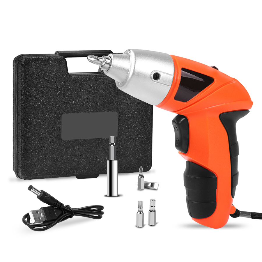 Electric Screwdriver Driver Power Tools Rechargeable Cordless Drill Wireless Mini Electric With Bidirectional Switch 4.8v