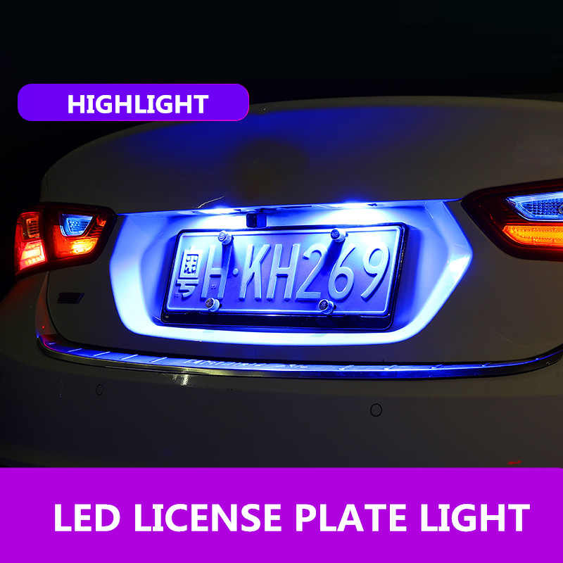 2 uds Canbus T10 LED W5W 194 mapa Domo puerta matrícula luces Interior lámpara Universal para VW BMW Audi Ford Jetta Toyota Honda