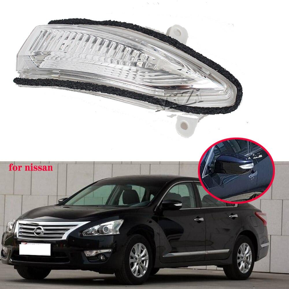 Зеркало заднего вида светодиодный поворотник светильник лампы для Nissan Teana Sentra X-Trail Pulsar Altima Sylphy 2012 2013 2014 2015 2016 левый и правый