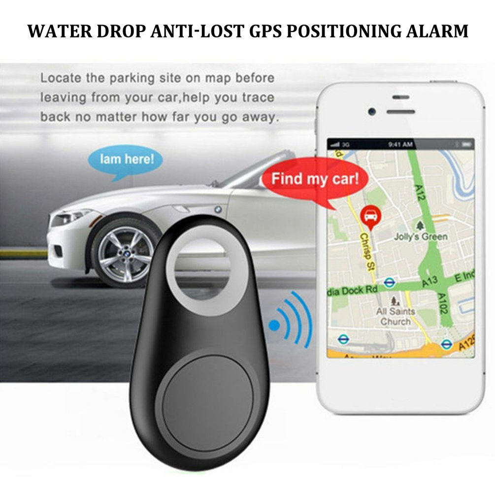 Smart Wireless 4.0 Key Anti Lost Finder iTag Tracker Alarm GPS Locator Wireless Positioning Wallet Pet Key Without battery