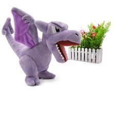 10PCS/Lot Anime Aerodactyl Plush Ancient Time Claw Aero Flying Dragon Toys Stuffed Animals Doll Children Kids Gifts 5 Inch